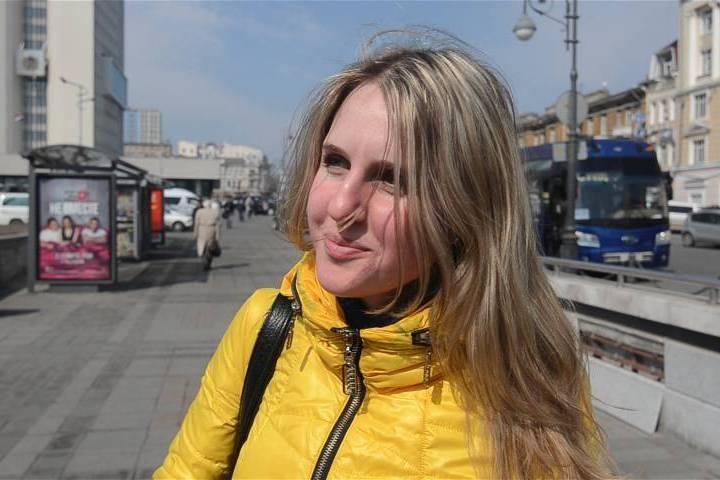 Уличный допрос: как девушке заработать на квартиру во Владивостоке?