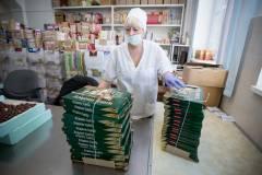 Сотрудники Приморского кондитера вышли на рабочие места