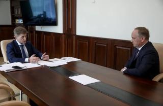 Фото: primorsky.ru   Губернатор Приморья остался недоволен работой мэрии Владивостока