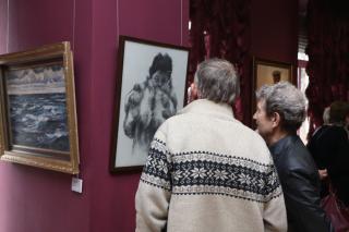 Фото: Екатерина Дымова / PRIMPRESS | Во Владивостоке открылась выставка к 100-летнему юбилею народного художника Ивана Рыбачука