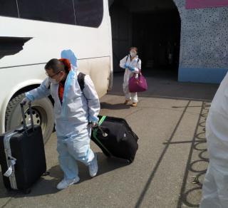 У 13 граждан КНР, возвращавшихся в Китай через Владивосток, выявлен коронавирус