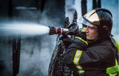 В Уссурийске потушили пожар в торговом центре