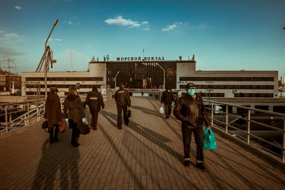 Индекс самоизоляции во Владивостоке рухнул до критической отметки