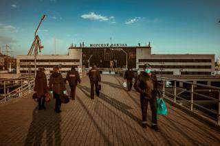 Фото: Анна Шеринберг / PRIMPRESS   Индекс самоизоляции во Владивостоке рухнул до критической отметки