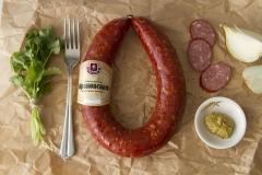 Фото: Ратимир   Завод «Ратимир» раскрыл секреты производства полукопченой колбасы «Краковская»