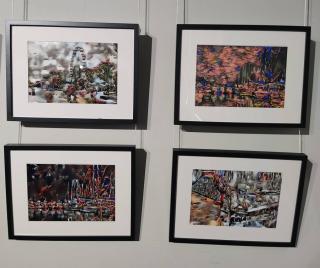 Фото: Сбер | Уникальная выставка синтетического искусства от «ученицы» суперкомпьютера Сбера проходит во Владивостоке