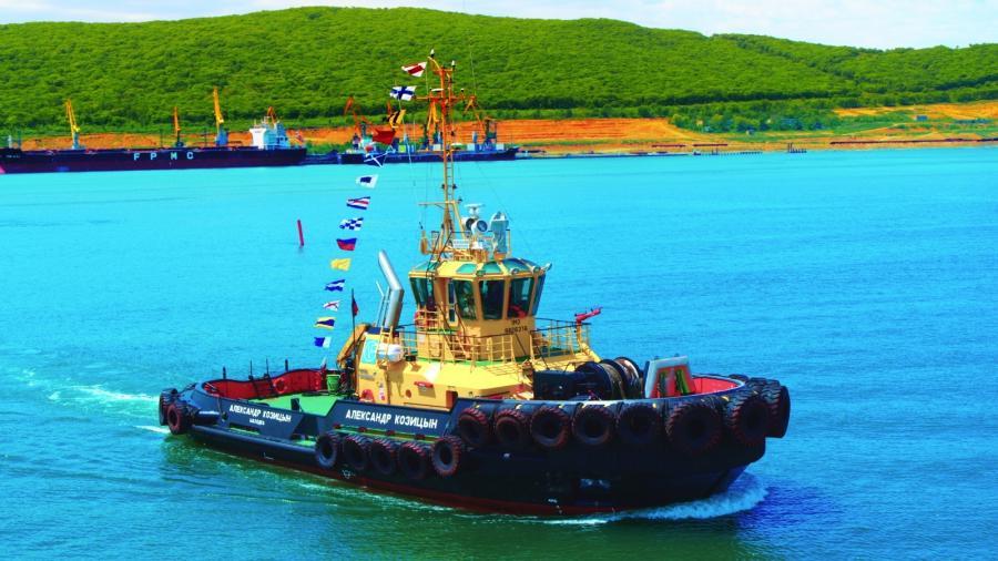 Экипаж морского буксира АО Восточный Порт пришёл на помощь моряку иностранного судна