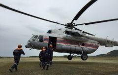 Спасатели ищут приморца, сплавлявшегося по реке Большая Уссурка