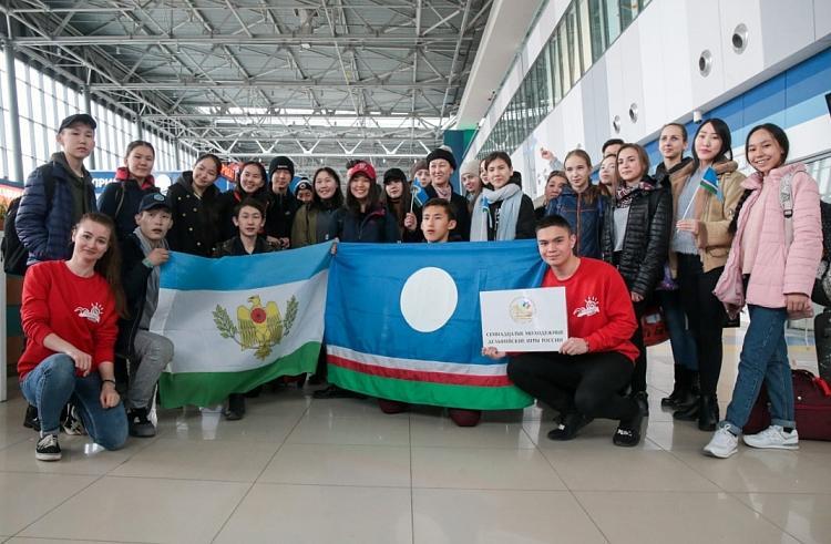 В Приморье прибыла первая делегация Дельфийских игр