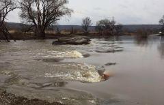 Уровень воды в реке Кроуновка снизился более чем на 25 сантиметров