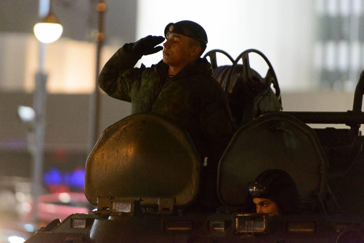 Очередная репетиция парада Победы состоялась во Владивостоке