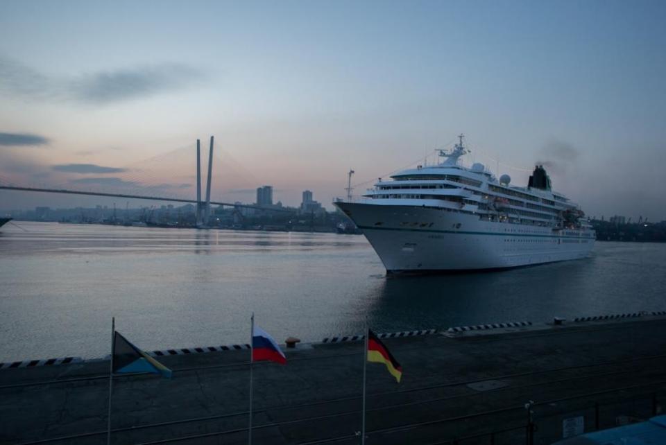 В этом году Владивосток примет иностранные круизные лайнеры 25 раз