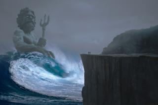 Фото: pixabay.com | «У Посейдона вечеринка?»: на видео сняли, что сделало море во Владивостоке