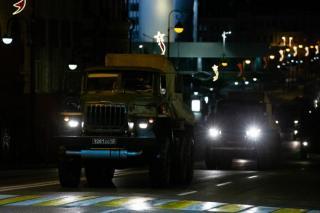 Фото: PRIMPRESS | «Аж мурашки по коже»: что было ночью в центре Владивостока, сняли на видео