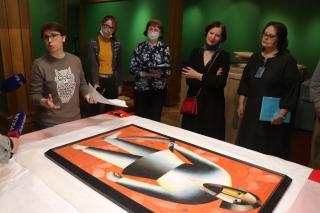 Фото: Екатерина Дымова / PRIMPRESS   Во Владивосток прибыли «Сокровища Нижегородского художественного музея»