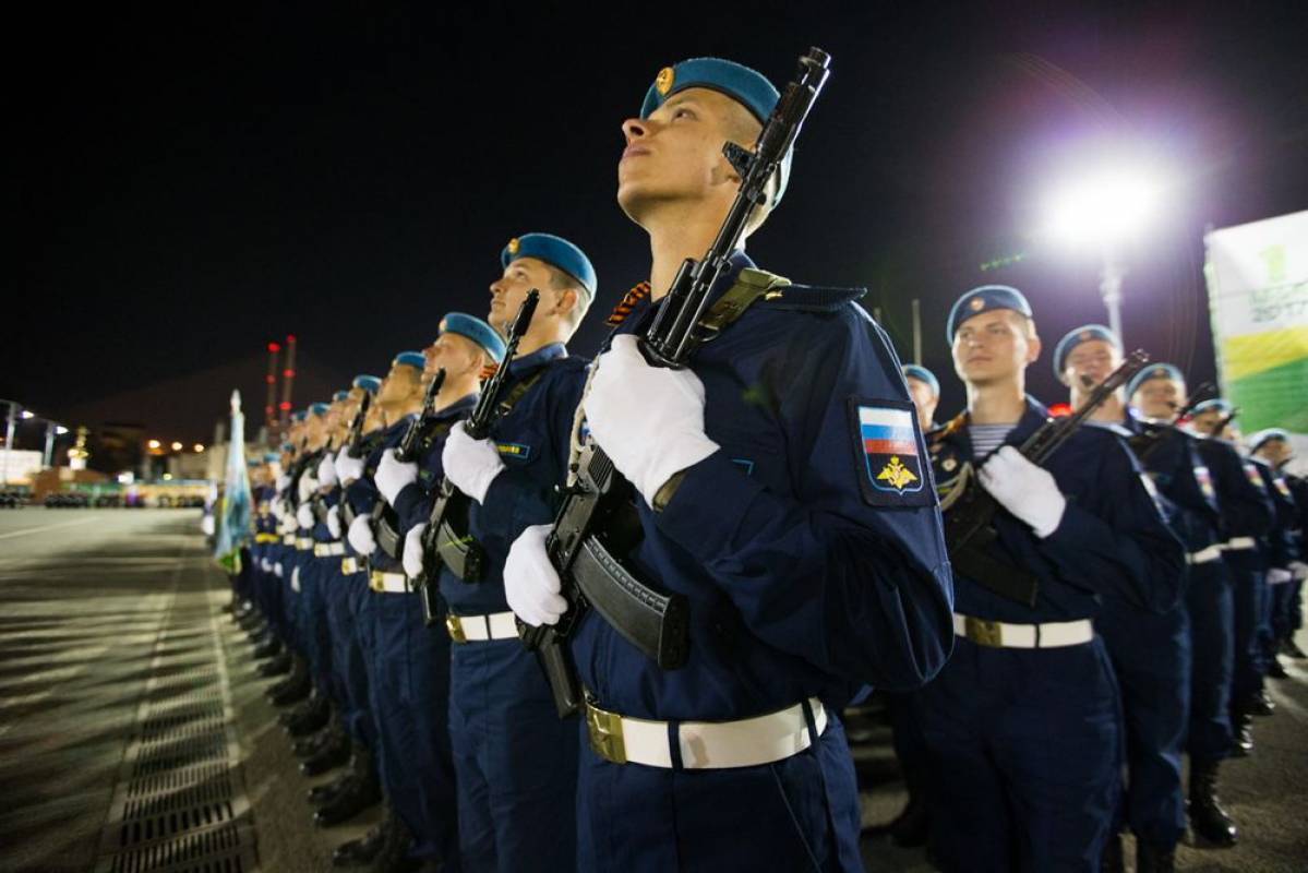 Во Владивостоке состоялась репетиция парада Победы