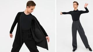 Фото: danceplus.ru   Новая коллекция мужской тренировочной одежды для спортивных бальных танцев SIMPLE MAN от бренда «Танцующие»