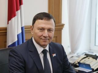 Фото: zspk.gov.ru | Поздравление с Днем Победы от председателя Законодательного собрания Приморья Александра Ролика