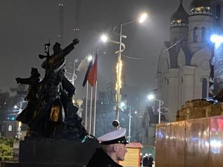 Фото: vlc.ru | В администрации Владивостока прокомментировали ситуацию с установкой флаговых консолей