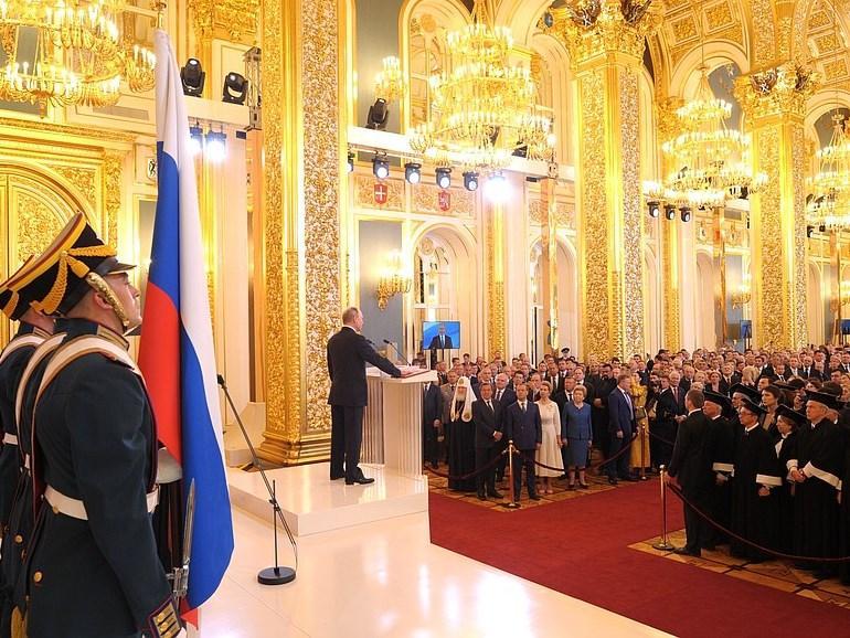 Спикер приморского парламента присутствовал на церемонии инаугурации президента России