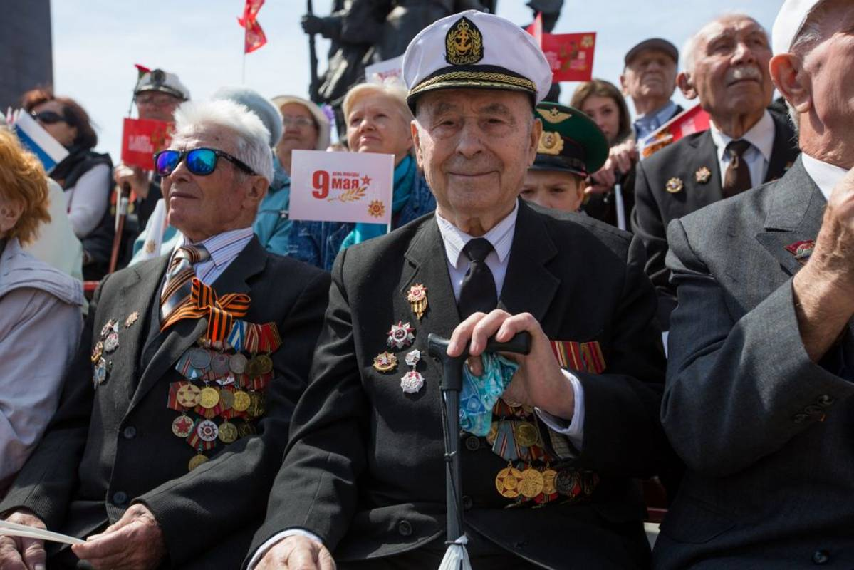 Владивосток отметил День Победы в Великой Отечественной войне