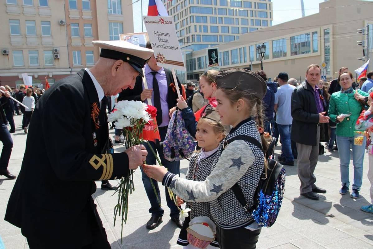 Ветераны Приморья отмечают День Победы