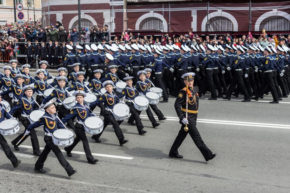 «Бессмертный полк» и владивостокский парад Победы в объективе PRIMPRESS