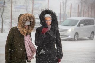 Фото: PRIMPRESS | Новый мощный циклон принесет в Приморье снег и не только