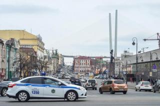 Фото: Александр Потоцкий/ PRIMPRESS | В День Победы на центральных улицах Владивостока ограничено движение