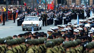 Фото: Татьяна Меель/ PRIMPRESS   Во Владивостоке отключилось электричество во время парада Победы