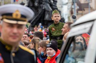 Фото: Татьяна Меель/ PRIMPRESS | Фоторепортаж PRIMPRESS: Во Владивостоке состоялся парад Победы