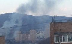 Фото: Очевидцы | Жители Владивостока задыхаются от дыма