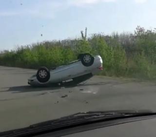 Фото: скриншот dpskontrol_125rus | «Колесами в небо»: в Приморье произошла череда однотипных аварий