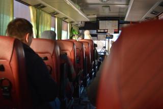 Фото: PRIMPRESS | «Двойной проезд?»: артемовцев возмутил новый способ пассажирских перевозок в районе аварийного моста
