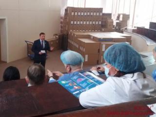 Фото: zspk.gov.ru   Председатель ЗС ПК Александр Ролик обсудил с медиками актуальные проблемы приморской медицины