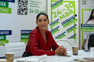 Фото: предоставлено организатором   Роза Чемерис: «Я сильный кандидат с правильной позицией»