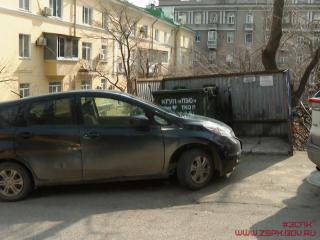 Фото: zspk.gov.ru   В Приморье вводятся штрафы за парковку возле мусорной площадки
