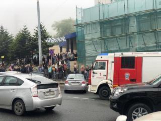 Фото: blog_vladivostok   Во Владивостоке прошла массовая эвакуация студентов