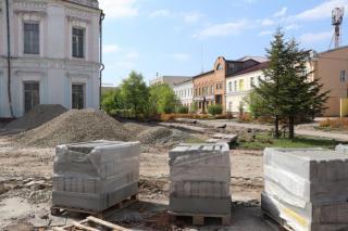 Фото: adm-ussuriisk.ru | В исторической части Уссурийска проходят строительные работы