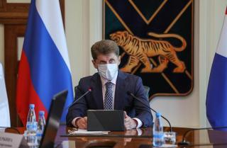 Фото: primorsky.ru | Видео: Олег Кожемяко рассказал приморцам, как принять участие в онлайн-голосовании