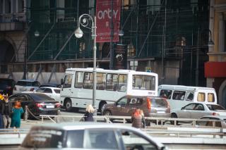 Фото: PRIMPRESS | Автобусы, следующие в центр Владивостока, будут ходить по измененному маршруту