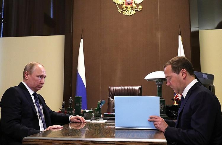 Президент России Владимир Путин утвердил новый состав правительства России