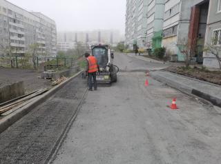 Фото: фото предоставлено подрядчиками   Во Владивостоке список ремонтируемых дворов пополнился двумя адресами