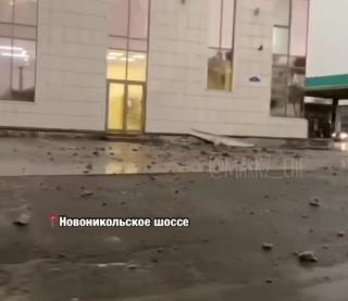 Фото: @mark2_che | «Очевидцы ослепли»: в Приморье молния ударила в торговый центр