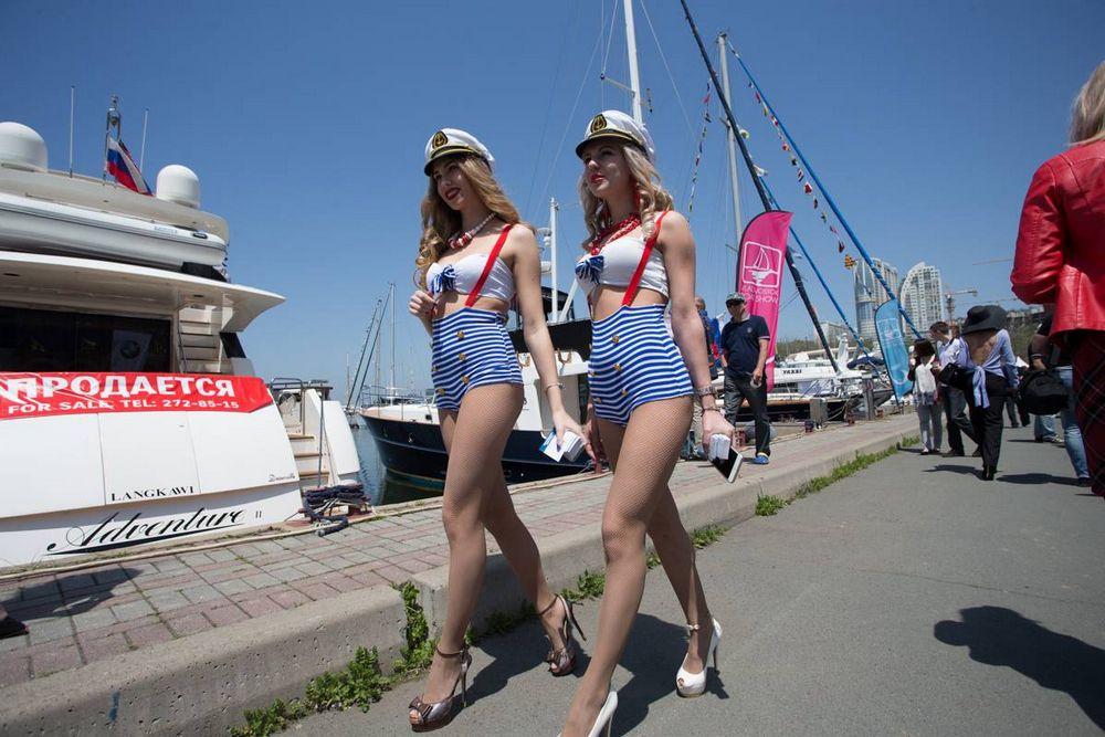 Выставка яхт и катеров открылась во Владивостоке