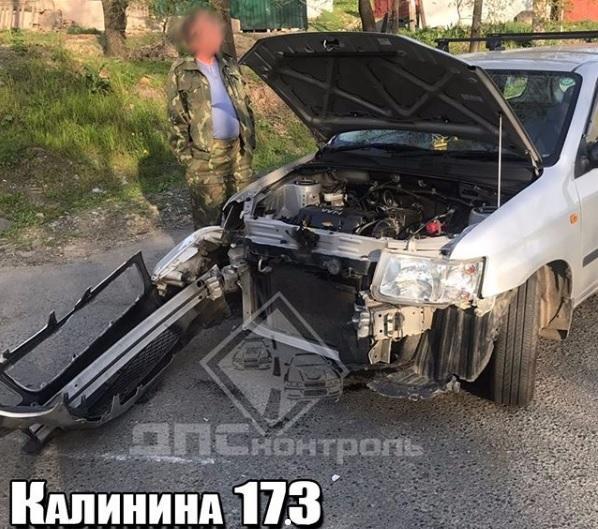 «Два сарая столкнулись»: ДТП произошло на опасном участке дороги во Владивостоке