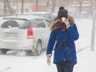 Фото: PRIMPRESS   Приморский край ждет серьезное похолодание и снегопад в мае