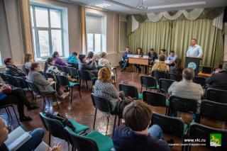 Фото: Анастасия Котлярова   Владивостокцам объяснили, как сменить УК, на первом в 2021 году семинаре школы «Управдом»