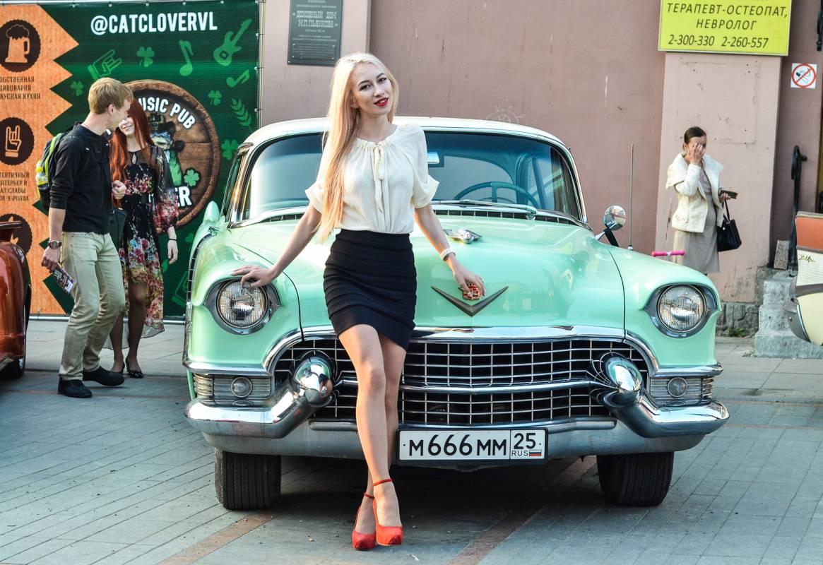 «Ночь музеев – 2017»: во Владивостоке представили ретроавтомобили