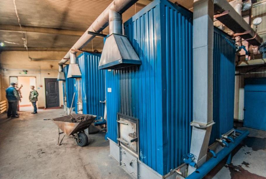 Строительство новой котельной в Углекаменске завершится в конце года